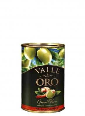 Оливки Manzanilla зеленые фаршированные креветкой