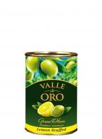 Оливки Manzanilla зеленые фаршированные лимоном