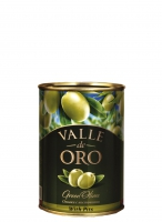 Оливки Manzanilla зеленые c косточками